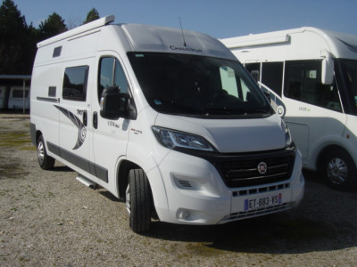 CATEGORIE F CHAUSSON V594 MAX 4 PLACES CARTE GRISE 4 COUCHAGES 4 PLACES JOUR